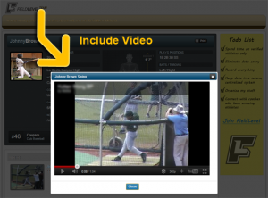 Always include video with athlete profiles