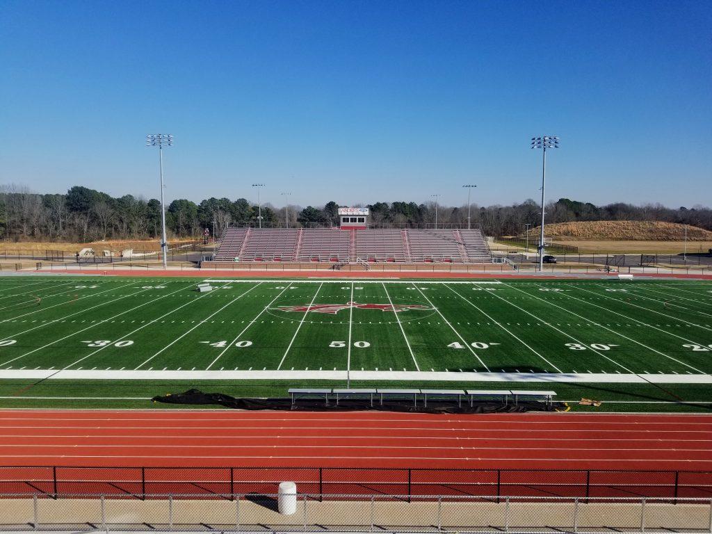 COVID-19 Empty Stadium